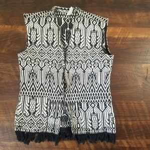 Oaxaca embroidered vest